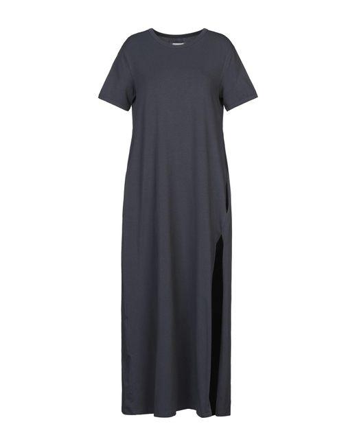 ..,merci Vestido largo de mujer de color gris