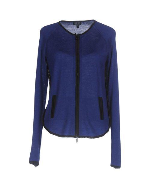 Armani Jeans | Blue Cardigan | Lyst