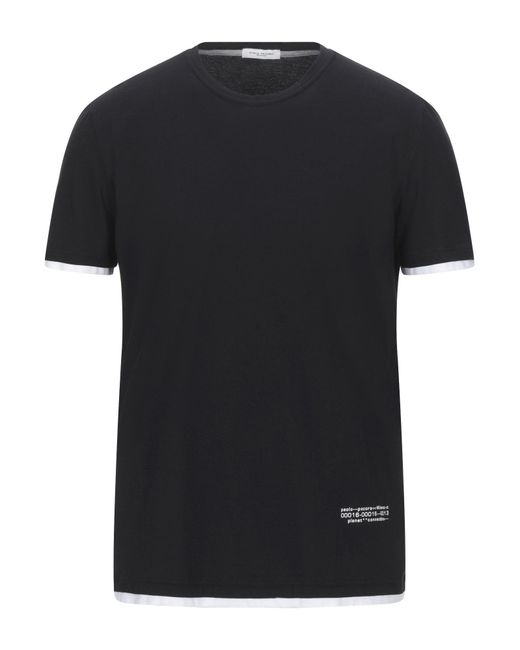 Camiseta Paolo Pecora de hombre de color Black
