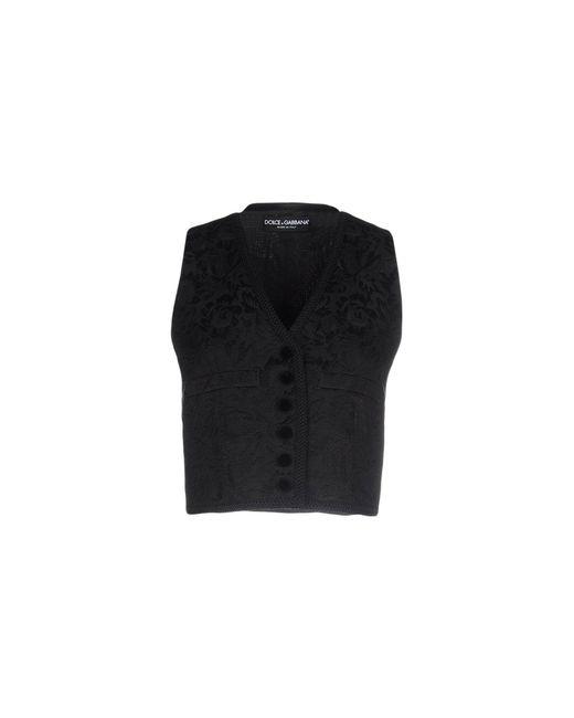 Dolce & Gabbana - Black Top - Lyst