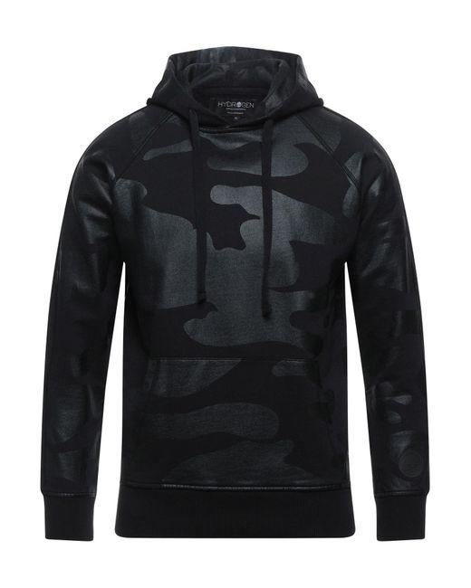 Hydrogen Black Sweatshirt for men