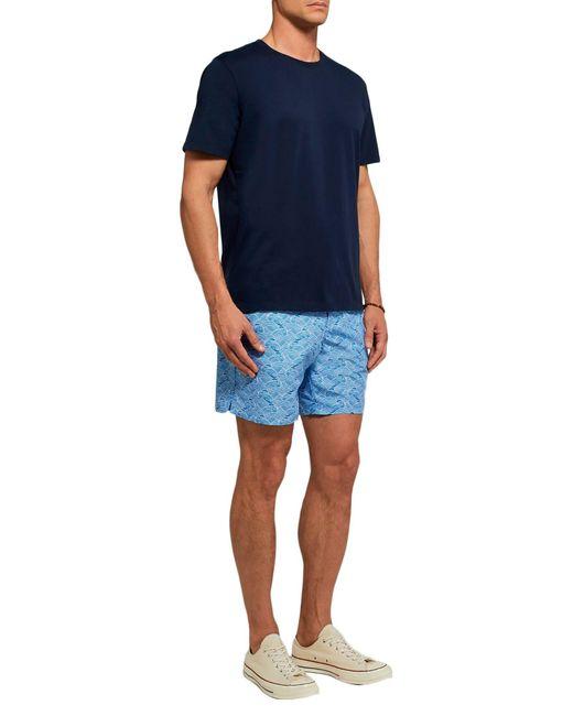 Bañadore tipo bóxer Derek Rose de hombre de color Blue