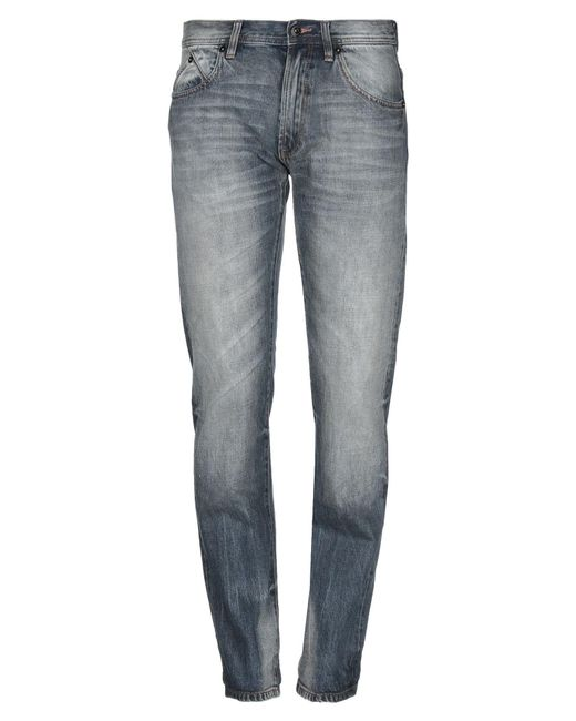 Barbour Blue Denim Pants for men