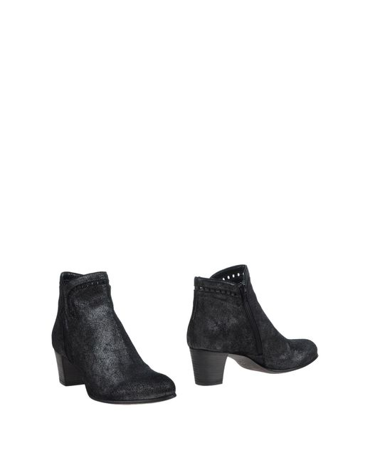 FRU.IT - Gray Ankle Boots - Lyst