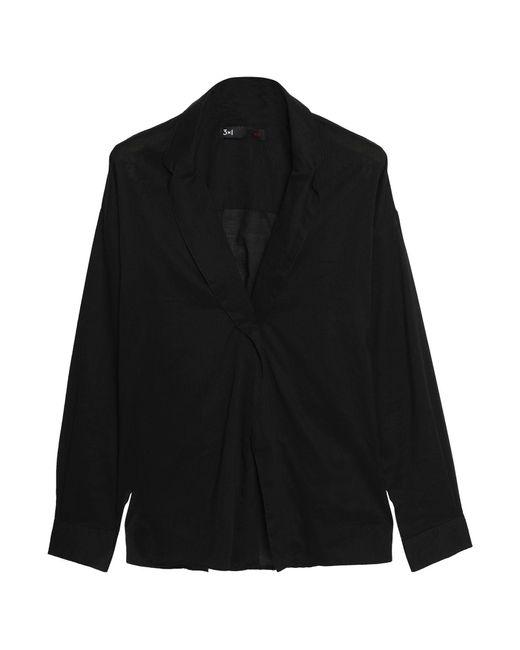 3x1 Camicia da donna di colore nero