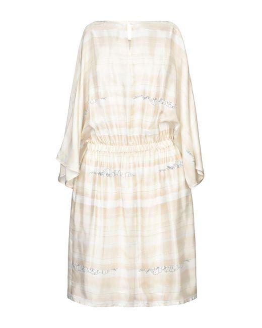 Peserico White Knielanges Kleid