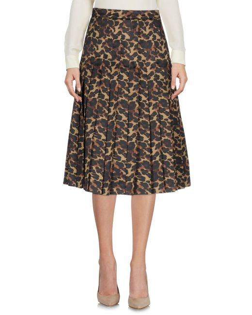 Space Style Concept - Multicolor Knee Length Skirts - Lyst