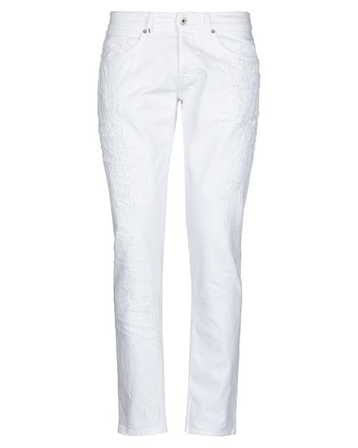 Pantalones vaqueros Dondup de hombre de color White