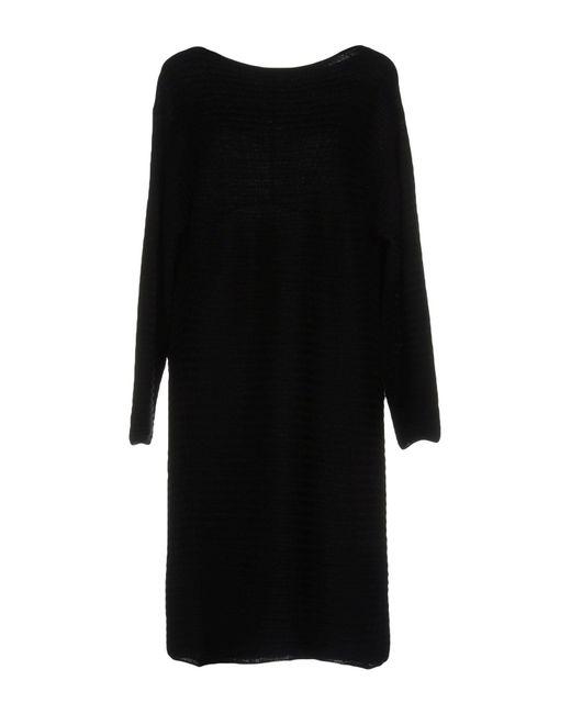 Roberto Collina Black Short Dress