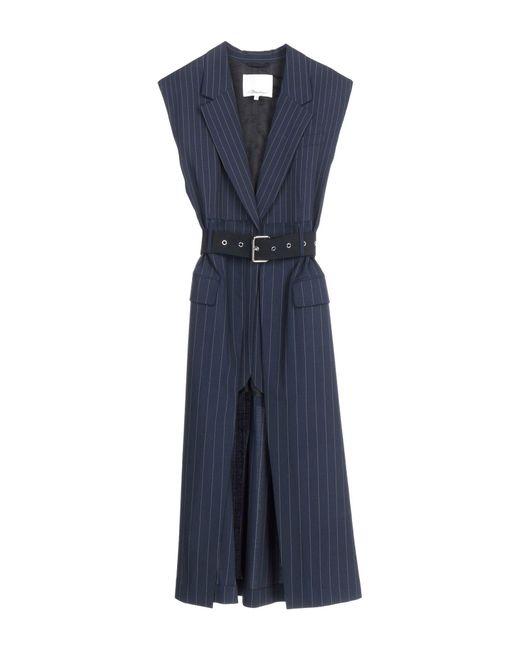 3.1 Phillip Lim Blue Overcoat
