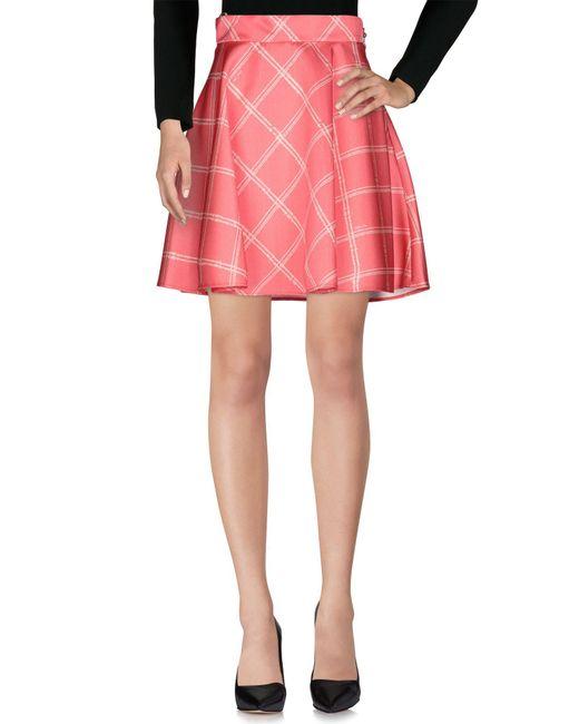 Falda corta Betty Blue de color Pink