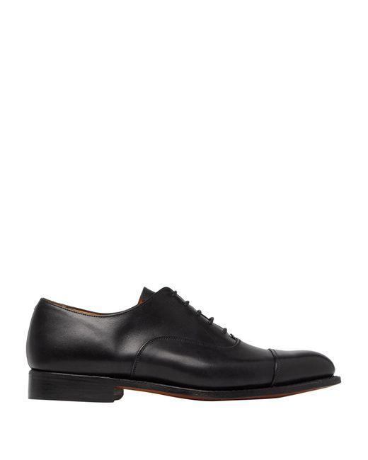 Tricker's Schnürschuh in Black für Herren