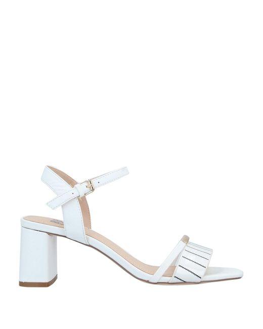 Bibi Lou White Sandals