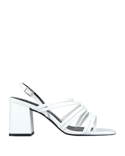 ONLY White Sandals