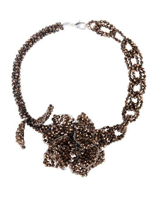 NIGHTMARKET.IT   Metallic Necklace   Lyst