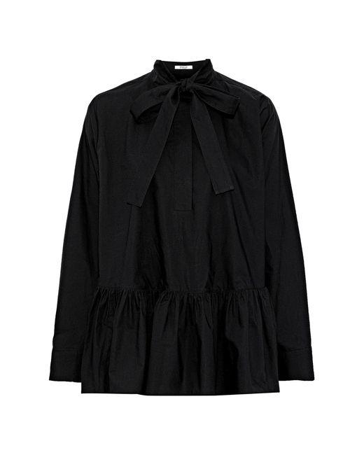 10 Crosby Derek Lam Blusa da donna di colore nero