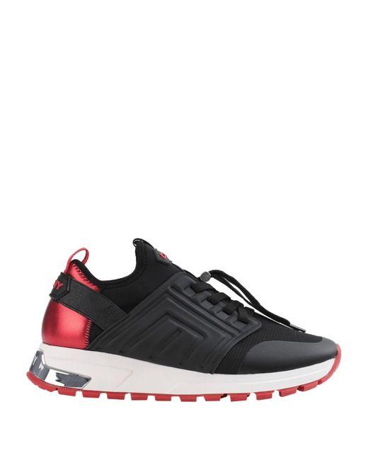 DKNY Black Low Sneakers & Tennisschuhe