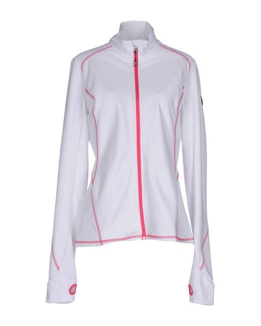 EA7 - White Sweatshirt - Lyst