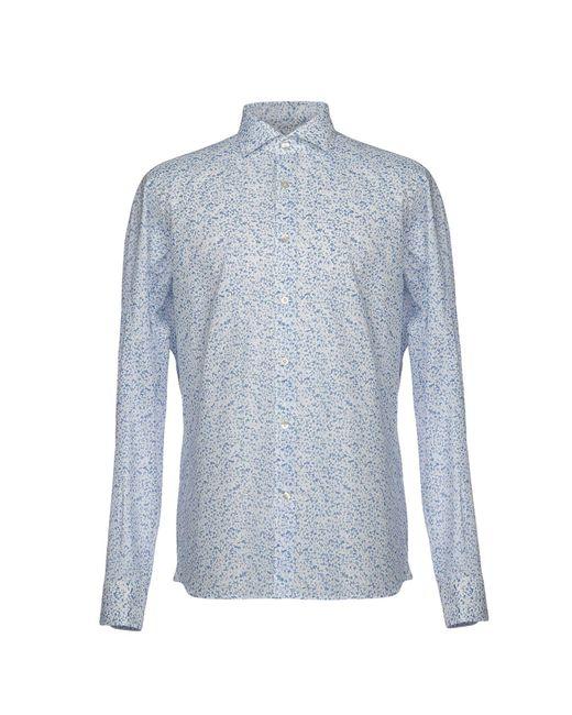 Domenico Tagliente - Blue Shirt for Men - Lyst