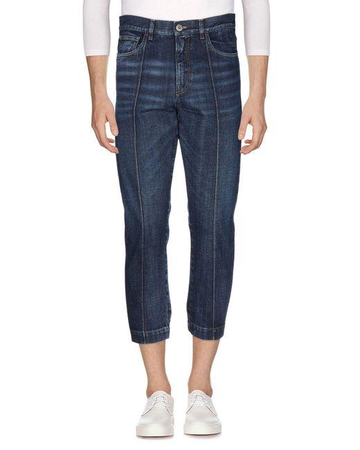 Pantalon en jean Prada pour homme en coloris Blue