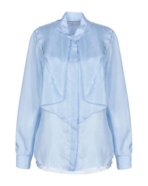 Golden Goose Deluxe Brand Camisa de mujer de color azul dubMo