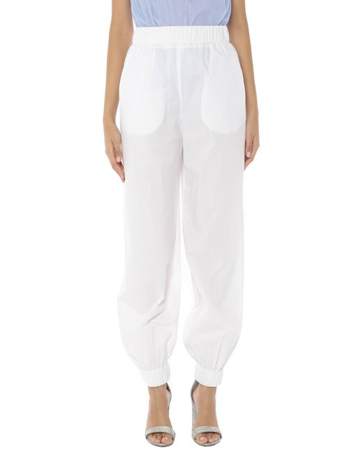Pantalones MSGM de color White