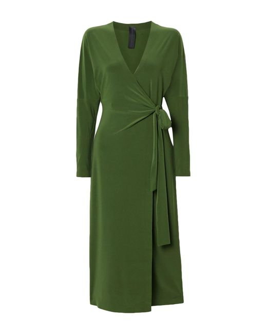 Vestito longuette di Norma Kamali in Green