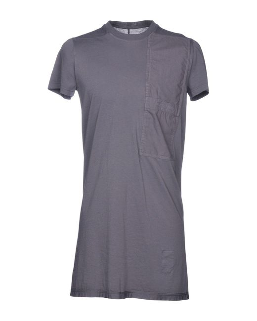 DRKSHDW by Rick Owens - Purple T-shirts for Men - Lyst