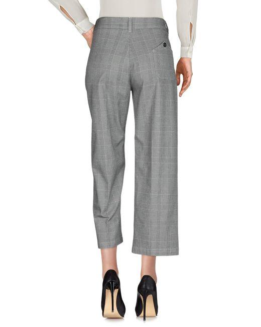 Department 5 Pantalon femme de coloris gris
