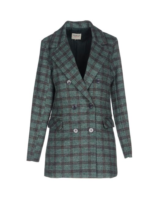 Cheap Monday   Green Coat   Lyst
