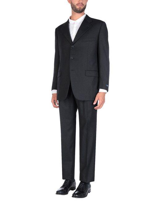Burberry - Gray Suit for Men - Lyst