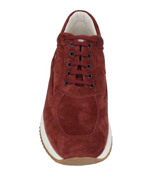 Hogan Low Sneakers & Tennisschuhe in Red für Herren