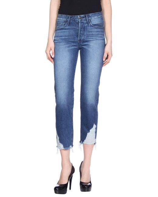 3x1 Blue Denim Pants