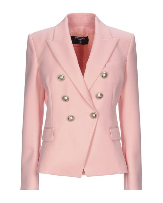 Women's Pink Suit Jacket