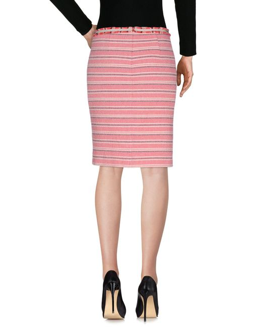 Gonna ginocchio di Weekend by Maxmara in Pink