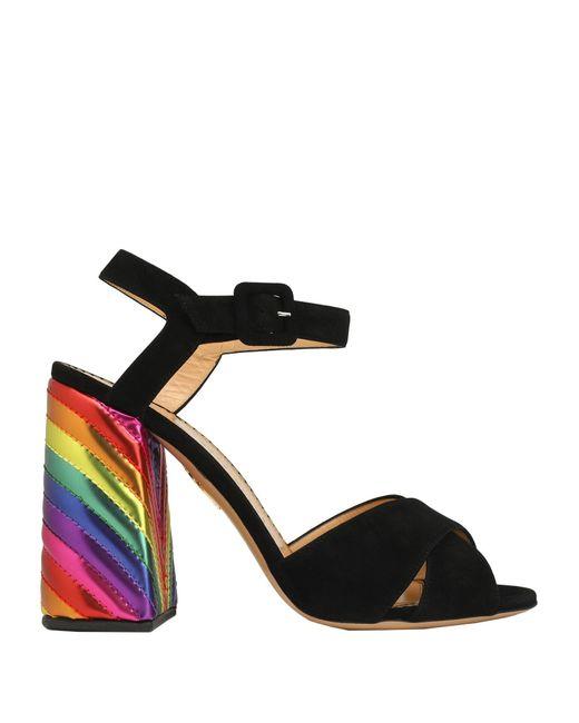 Sandales Charlotte Olympia en coloris Black