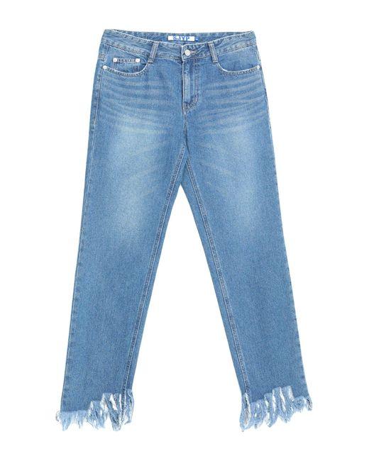 SJYP Blue Jeanshose