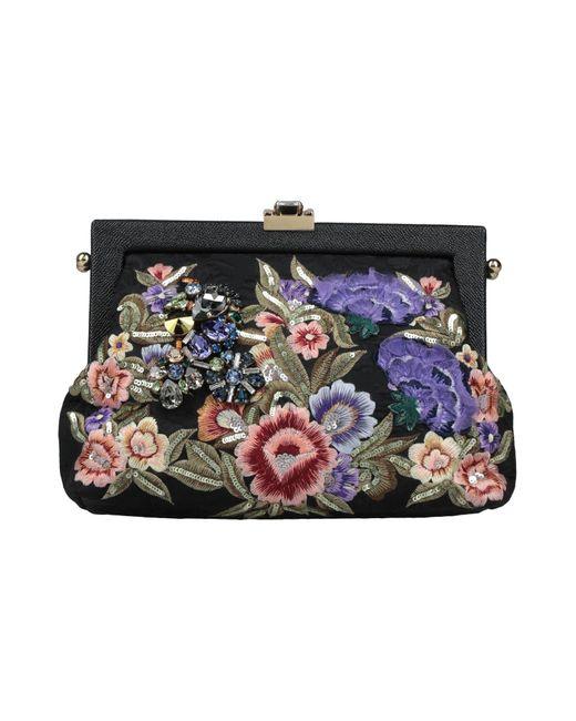 Borsa a mano di Dolce & Gabbana in Black