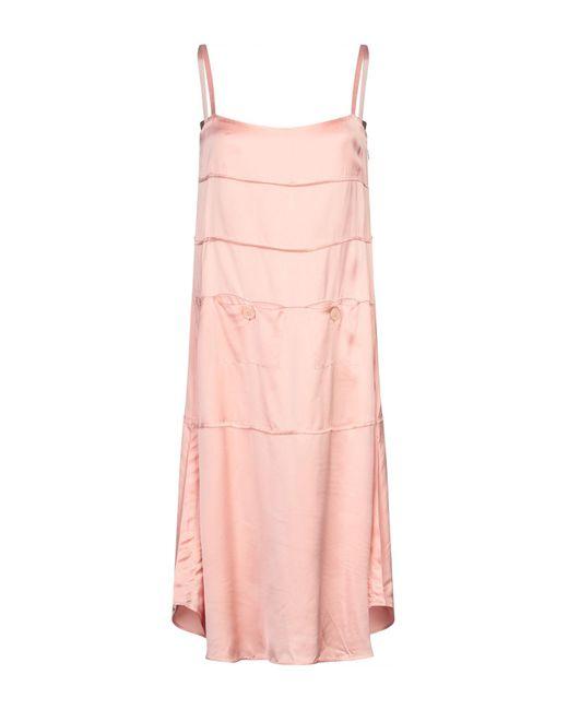 Vestido por la rodilla Carven de color Pink