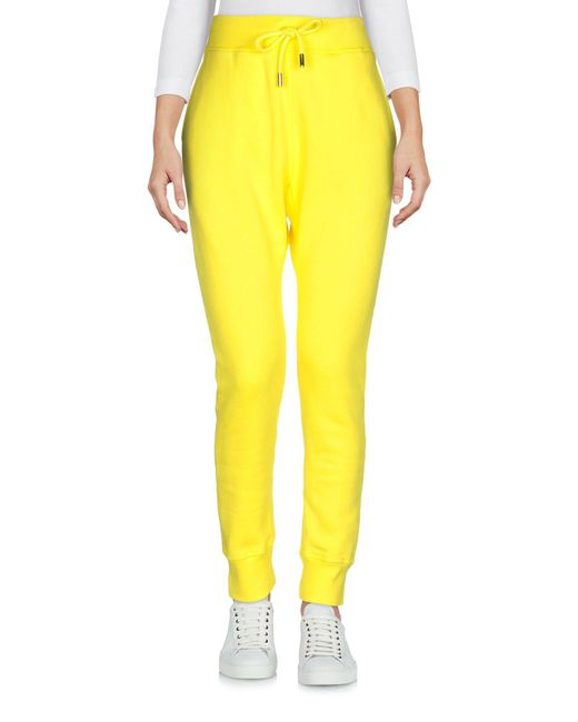 Pantalon DSquared² en coloris Yellow