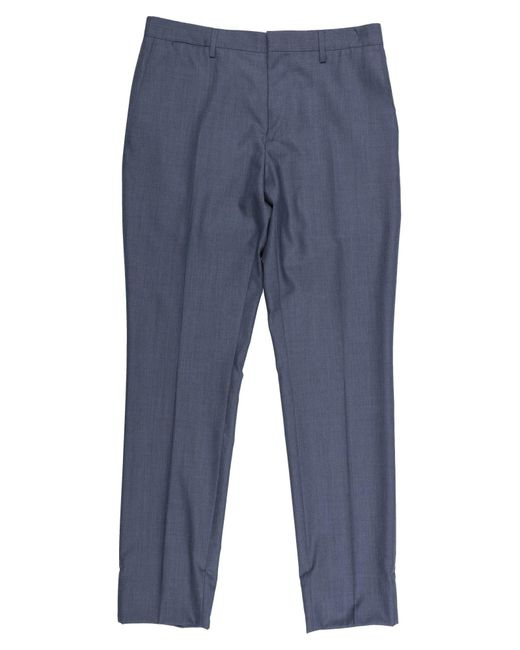 Burberry Blue Casual Pants for men