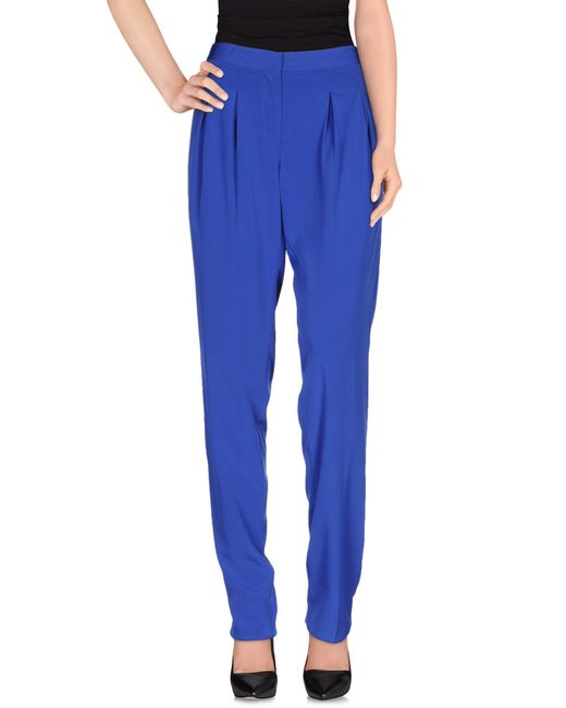 Blugirl Blumarine - Blue Casual Trouser - Lyst
