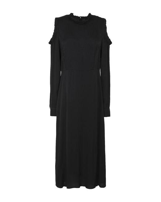 2nd Day - Black 3/4 Length Dress - Lyst