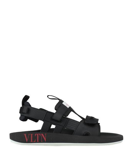 Valentino Garavani Black Sandals for men