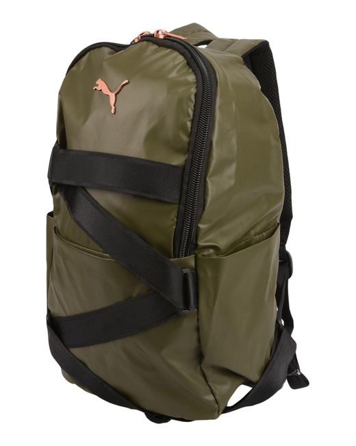 fd259872fa PUMA - Green Backpacks   Bum Bags - Lyst ...