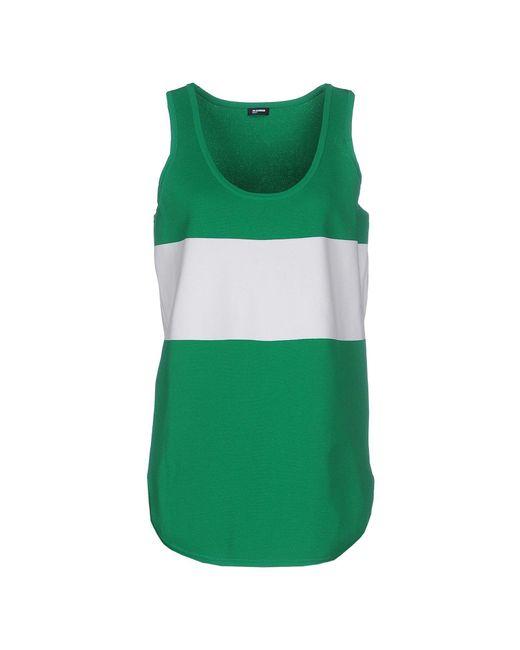 Jil Sander Navy - Green Tank Top - Lyst