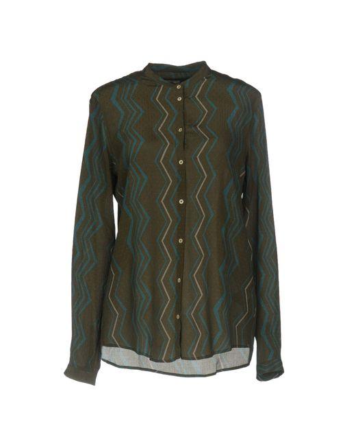 Massimo Alba - Green Shirt - Lyst