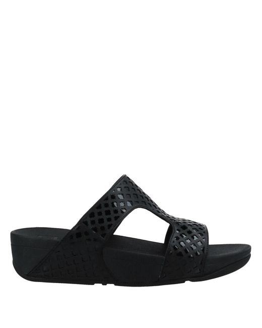 Sandalias Fitflop de color Black