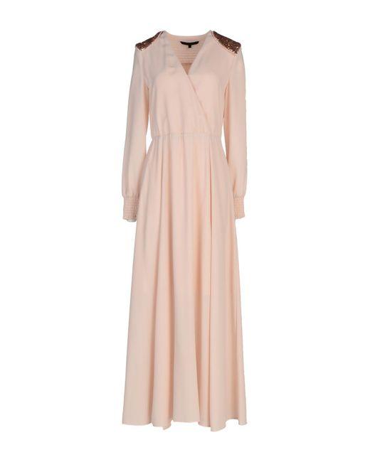 Silvian Heach Pink Long Dress
