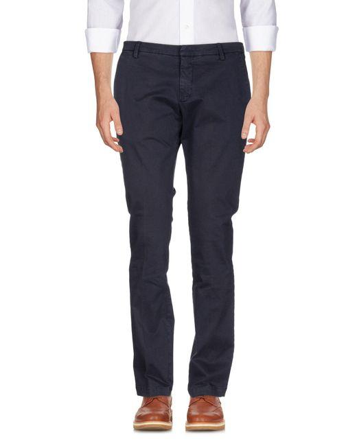 Michael Coal - Blue Casual Trouser for Men - Lyst